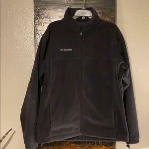 Columbia fleece zip sweater